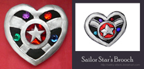 Sailor Star Brooch